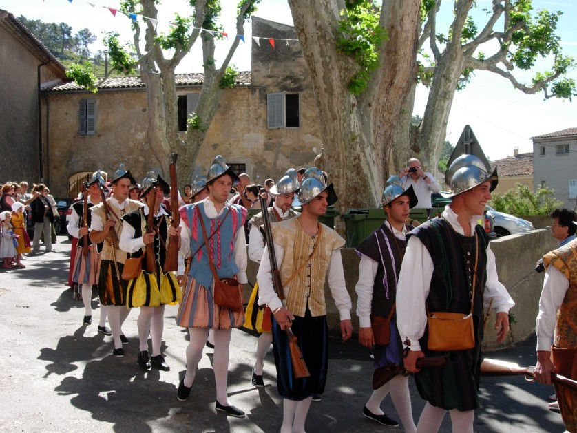 Men of the procession
