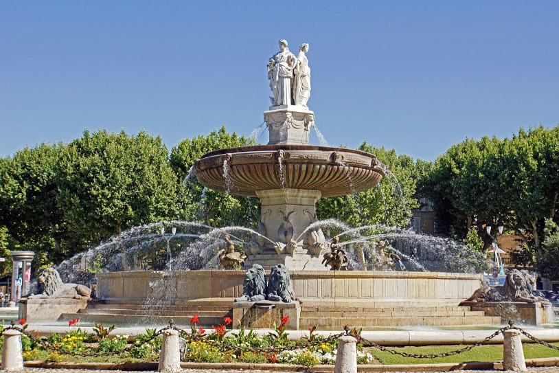 'Fountain de la Rotonde'