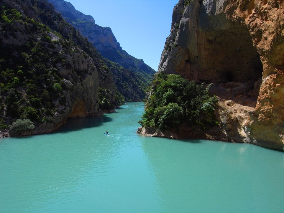 Kayaking in the Gorges