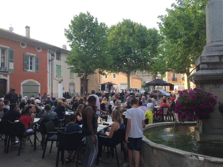 'Fete de la Music' in the village