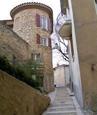Varages village tower