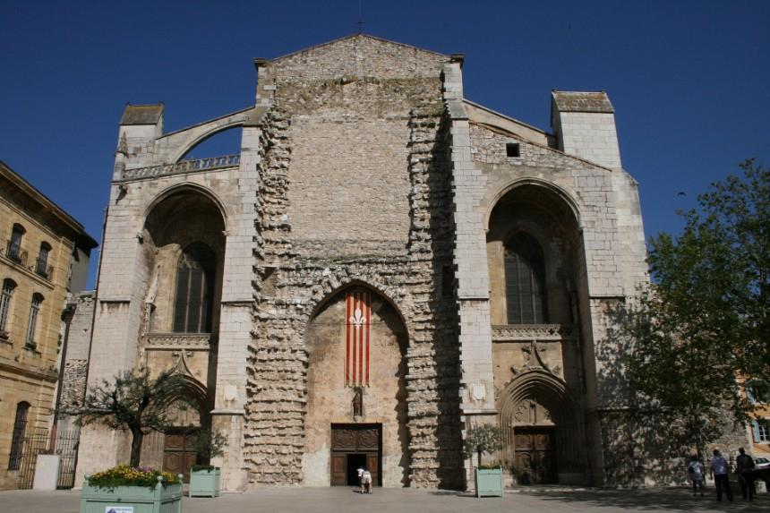 Cathedral in Saint-Maximin-Sainte-Baume