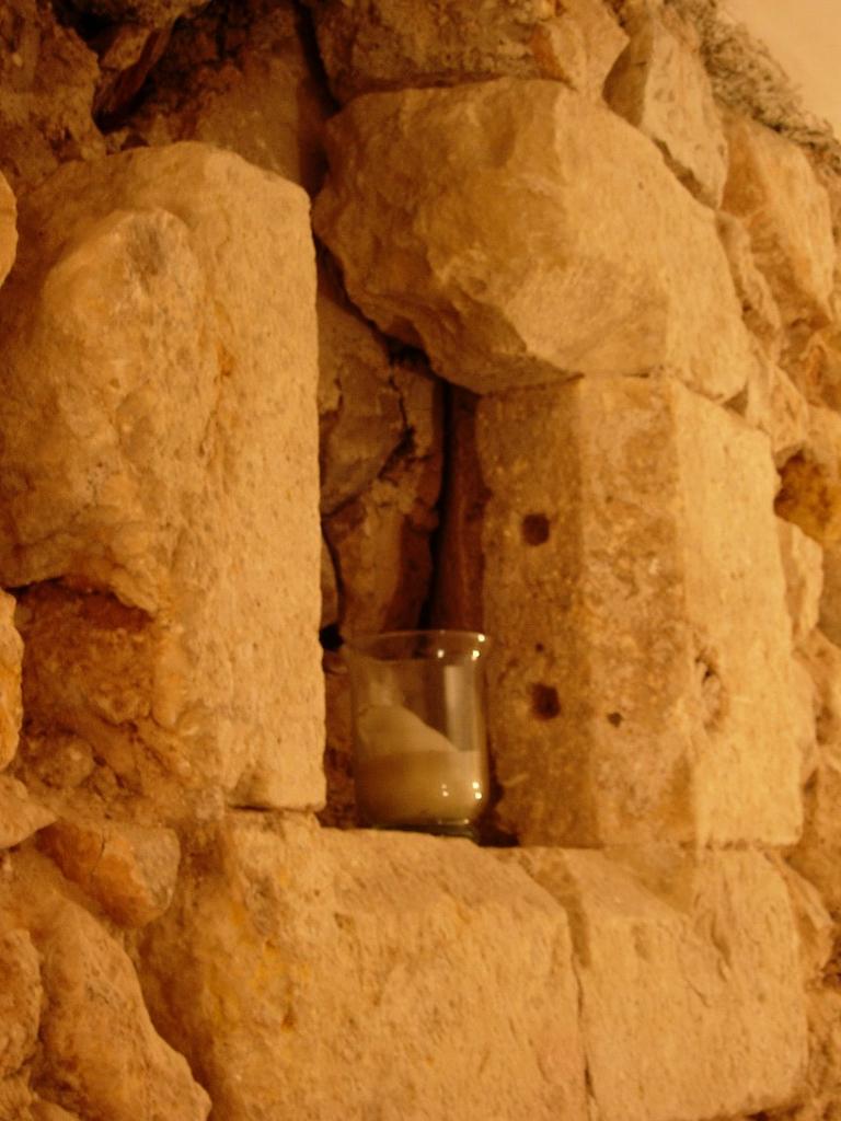 Discovered stone window