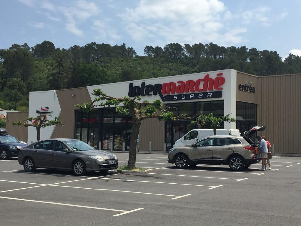 Intermarche food store Barjols
