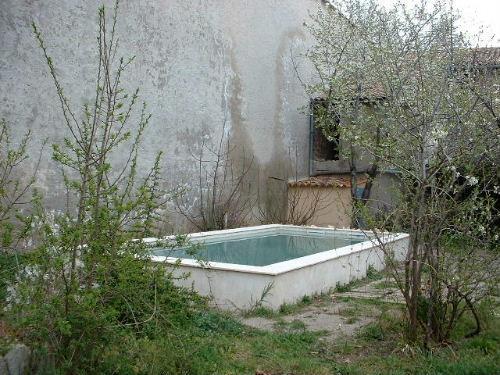 Neglected garden - before
