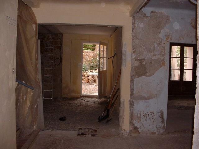 Original entrance hall - second section