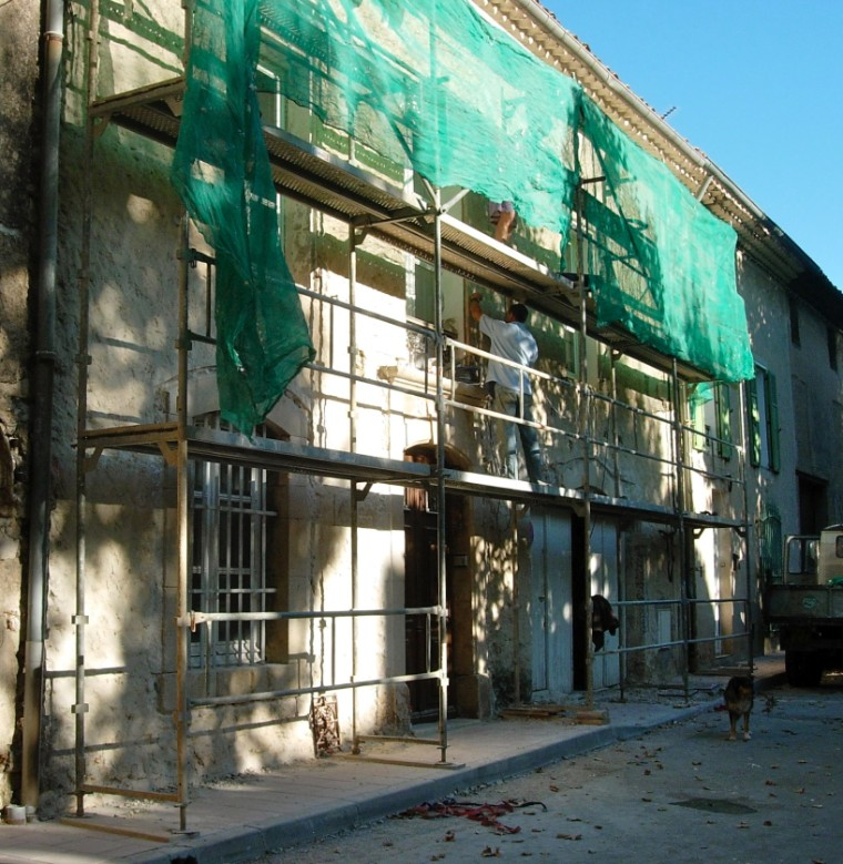 Transforming the facade - first stage
