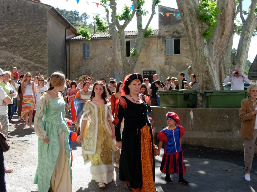 Ladies of the procession