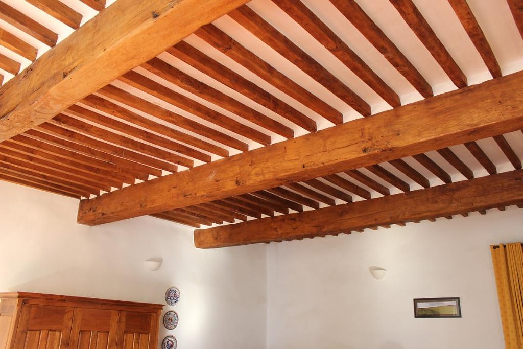 Salon - original ceiling finished
