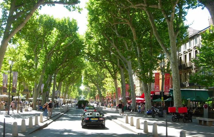 Boulevard Cours Mirabeau