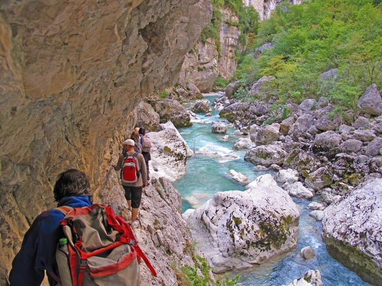 Hiking in the Gorges